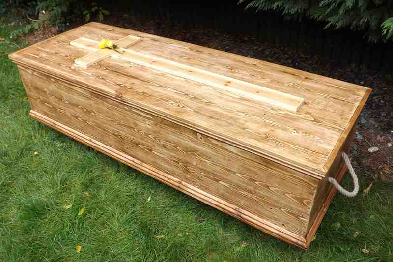 Natural Death Centre  org - Coffins, Shrouds and Memorials