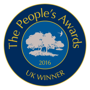 Best Natural Burial Ground in the UK 2016 logo